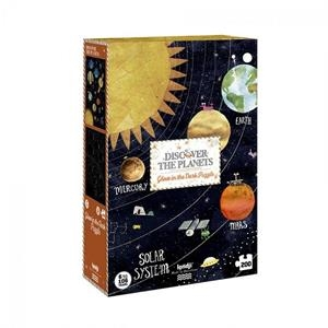 PUZZLE DISCOVER THE PLANETS 6/106 ANYS 200 PECES | 8436530168743