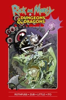 RICK Y MORTY VS DUNGEONS & DRAGONS | 9788467940084 | GORMAN / CANNON / HILL